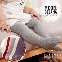 LEGGING BAYI STRETCH POLOS leging baby anak tutup kaki unisex boy girl