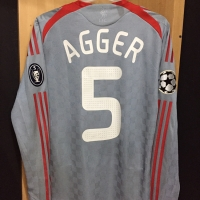 Original Jersey Liverpool Away 2008 Agger Player issue