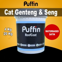 Cat genteng & Waterproof Puffin RoofCoat satin waterbased 4kg
