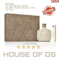 Parfum John Varvatos Artisan Pure GIFT SET 125ml + Travel Spray + Vial