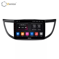 OWNICE Head Unit Mobil CRV 2012 - 2016 Waze Spotify Simcard Maps
