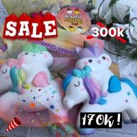 Popular boxes poli riding unicorn LICENSED SQUISHY