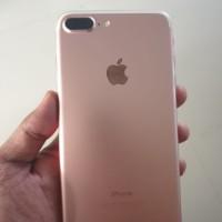 Iphone 7+ rosegold mulus