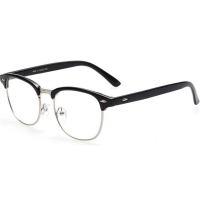 Kacamata Vintage Pria & Wanita - Black