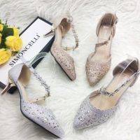 Gss high heels pesta Simoncelli gliter blinks / sepatu import premium