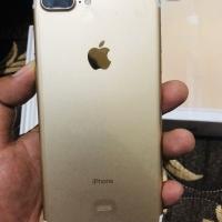 Iphone 7 plus gold 256gb ex garansi resmi ibox full set