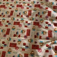 Sarung kasur bayi ukuran 80x100x10 bahan katun jepang