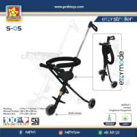 Magic Ezzy Stroller PMB 3 Roda Roda Lampu