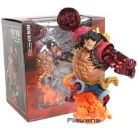 Action Figure One Piece Monkey D Luffy Gear 4 Kong Gun Crimson Ver