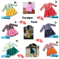 Dress cardigan lucu