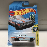Hotwheels 68 Chevy Nova Gulf Blue Factory Sealed 2019