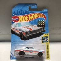 Hotwheels 68 Chevy Nova Gulf White Factory Sealed 2019