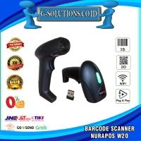 Barcode Scanner NURAPOS W20 1D & 2D Wireless -Scan e-Faktur QR CODE