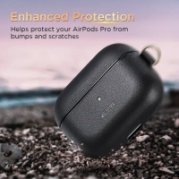 Case Airpods Pro ESR ORIGINAL Leather Casing Cover FREE Keychain/Hook