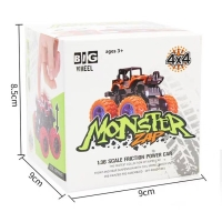 Mainan mobil jip off road monster zap
