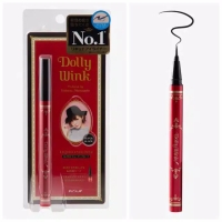 Koji Dolly Wink Liquid Eyeliner Waterproof Super Black