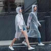 Jas hujan motor / jas hujan dewasa motif transparan cowo cewe