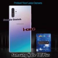 Samsung Note 10 / Plus Pelindung Lensa - Anti Gores Camera Carbon