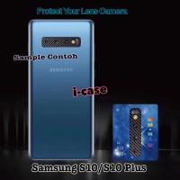 Samsung S10 Plus Pelindung Lensa Anti Gores Camera Carbon Samsung S10