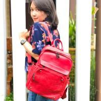 Tas punggung wanita model korea local brand merk tuan tanoe