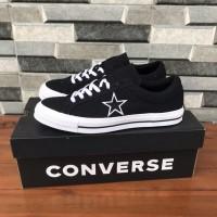 Converse One Star Black White Canvas ORIGINAL BNIB RESMI