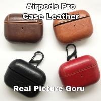 Airpods Airpod pro Leather Case Premium kulit free hanger strap apple