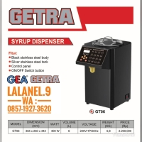 GETRA GT06 SYRUP DISPENSER STAINLESS BODY NEW