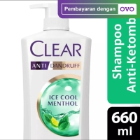 Clear Shampoo Ice Cool Menthol 680 Ml (Anti Ketombe)