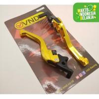 Handle Rem New Pcx New Lokal VND Racing Anti Karat Cnc Aluminium Gold