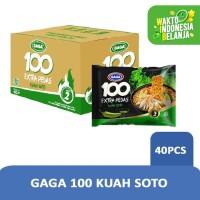GAGA 100 Soto Extra Pedas (1 dus = 40 pcs)