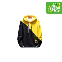 FortKlass CATCHII Sweater Hoodie Polos Pria Kupluk Hodie Unisex Fleece