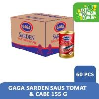 Gaga Sarden Tomato Chili 155 (1 dus = 60 pcs)