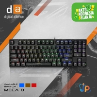 Keyboard Gaming Mechanical Digital Alliance Meca 8 Rainbow Led