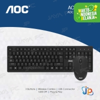 AOC KM210 Bundle Combo Wireless Keyboard + Mouse