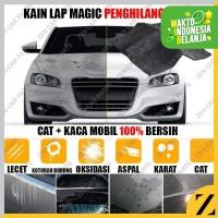 Kain Penghilang Lecet Kerak Jamur Air Hujan Kaca Cat Body Mobil Motor