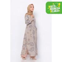 ZM Zaskia Mecca - Jiel Dress - Jelita Indonesia - Edisi Yogyakarta - Cream, XL