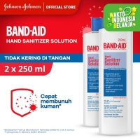 Band Aid Hand Sanitizer Solution [250 mL/ 2 pcs]