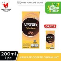 NESCAFE Coffee Cream UHT 200ml Beli 1 Gratis 1