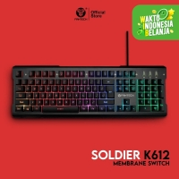 keyboard gaming RGB fantech k612 soldier