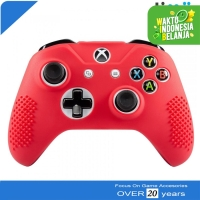 Silikon Silicone Kondom Case Cover Stik Stick Xbox One Warna Merah