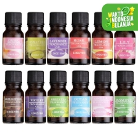 Pengharum Ruangan Diffuser Air Humidifier Purifier Aroma Terapi 10ml