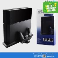 Kipas Cooling Fan PS4 Charging Stand Dock Fan Slim Dan Fat