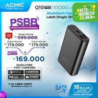 ACMIC Q10PRO 10000mAh PowerBank Quick Charge 3.0 + PD Power Delivery