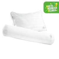 Compact Fiber Pillow + Bloster