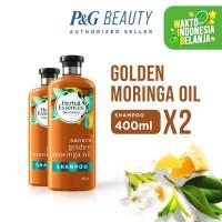 Herbal Essences Bio Smooth Golden Moringa Oil Shampoo 400 ml x2