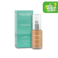 [NEW] Wardah Exclusive Liquid Foundation 05 Coffee Beige 20 ml