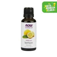 NOW® - Organic Lemon Essential Oil - 30 ml