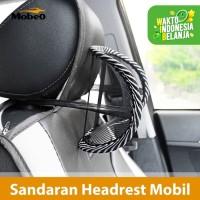Mobeo Sandaran Leher / Punggung Kursi Mobil Refleksi ( Seat Cushion )