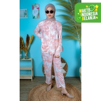 FortKlass ST LP SAKURA One Set TIE DYE Motif Stelan DailySet DYE CUT
