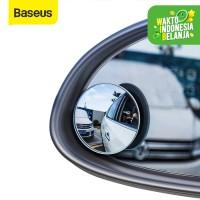 BASEUS KACA SPION KECIL MINI CEMBUNG WIDE ANGLE BLIND SPOT CAR MIRRORS